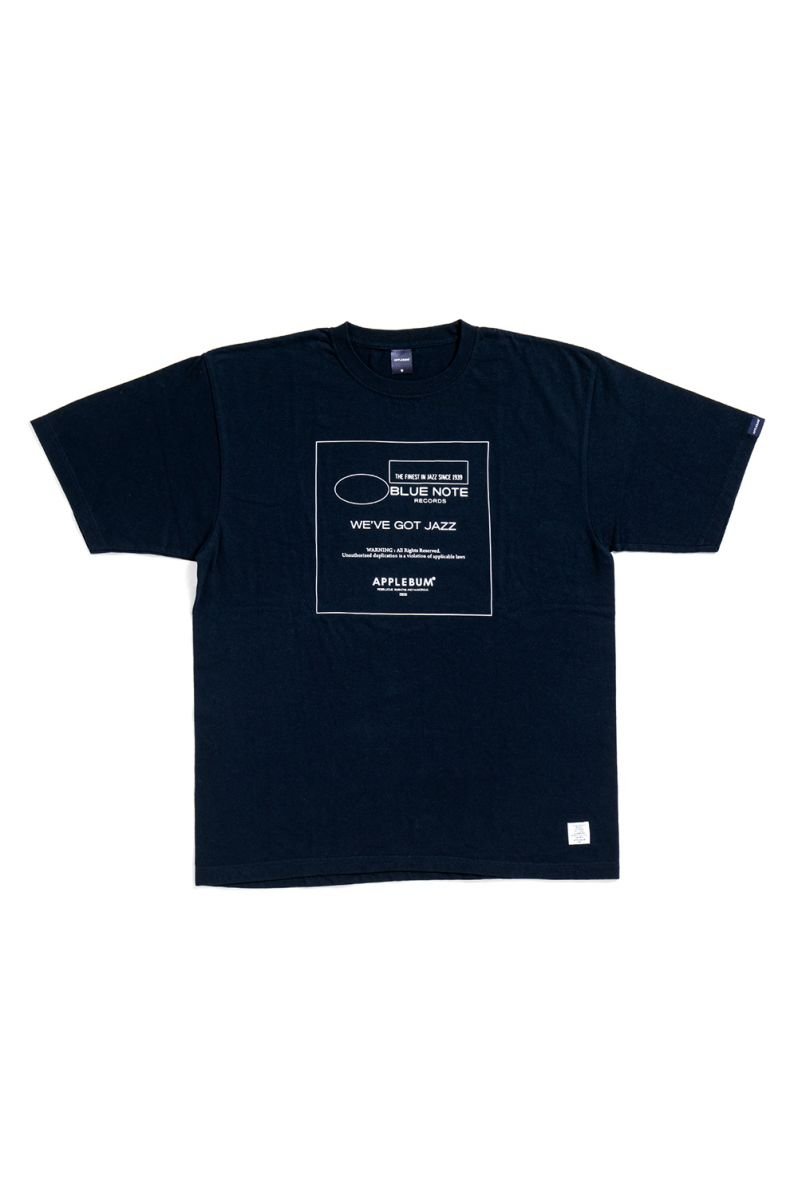 WE'VE GOT JAZZ T-shirt/Navy(BN1911102) Applebum(アップルバム)