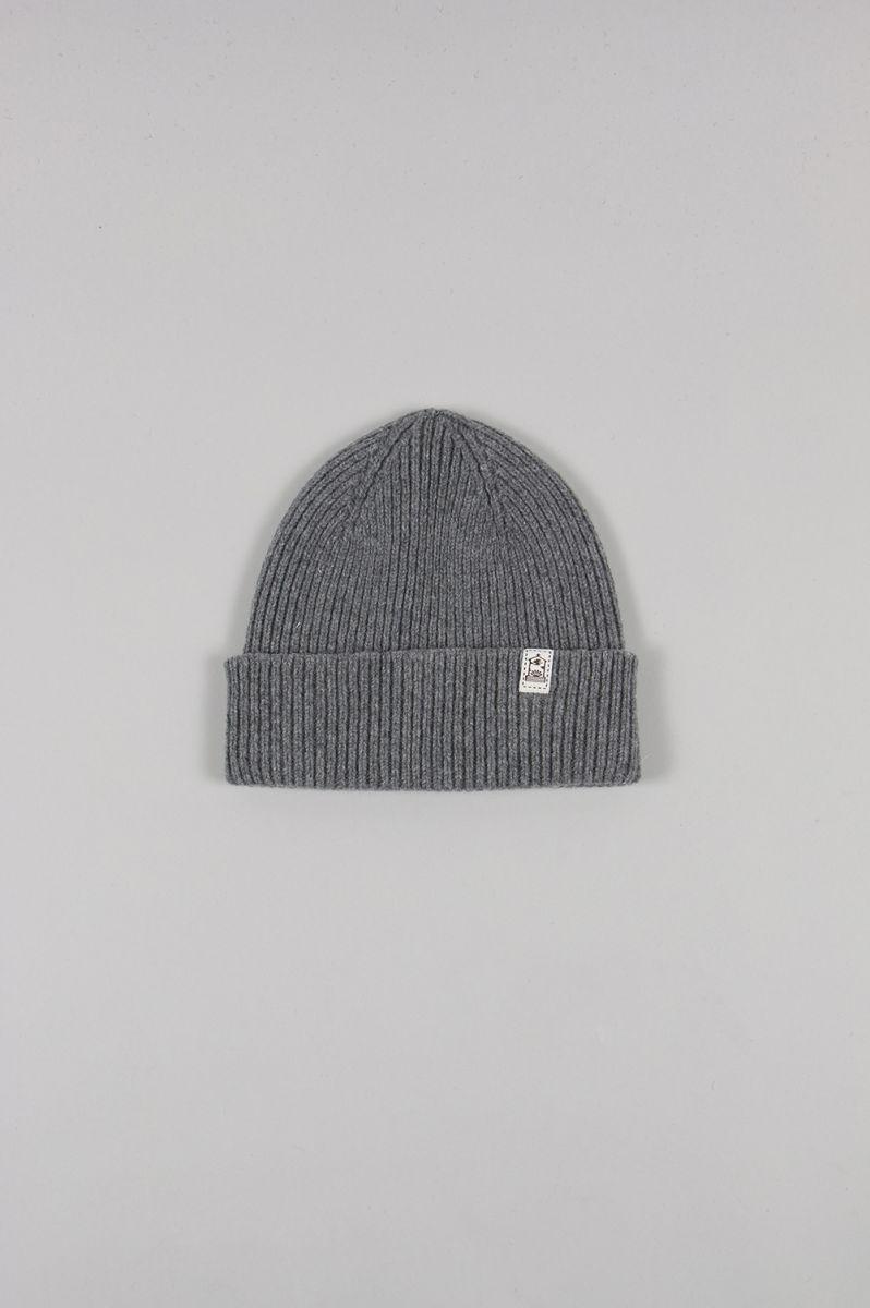 インバーアラン メンズ Hat Rib Knit グレーミックス【正規取扱店】