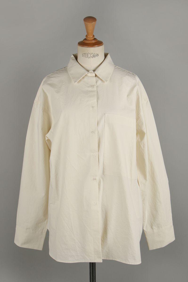 トゥデイフル レディース Boyfriend Pocket Shirts ホワイト【正規取扱店】