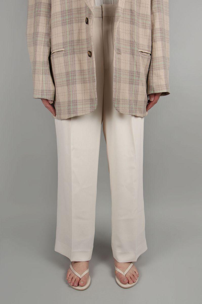 トゥデイフル レディース Georgette Rough Trousers エクリュー【正規取扱店】
