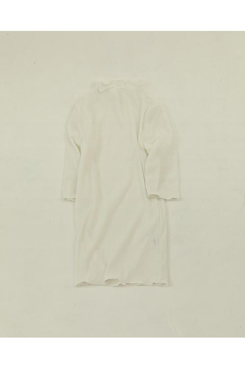 【予約会開催中】Drytouch Halfsleeve Tops-WHITE(12010616 ) (R) Todayful(トゥデイフル)