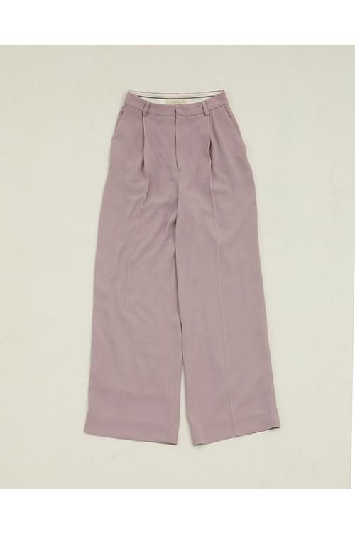 【受注会開催中】Georgette Rough Trousers-LAVENDER(12010708) (R) Todayful(トゥデイフル)