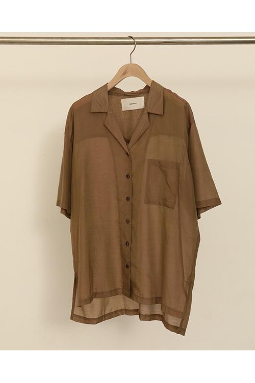 【予約会開催中】トゥデイフル レディース Silk Boyfriend Shirts モカ (R)【正規取扱店】