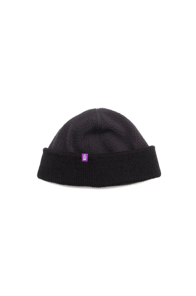 正規取扱店 1万円以上は送料無料 POLARTEC Field Fleece Cap - Black NN8154N ザ Purple Label North Face ノースフェイス 好評 The パープルレーベル Men 爆売りセール開催中
