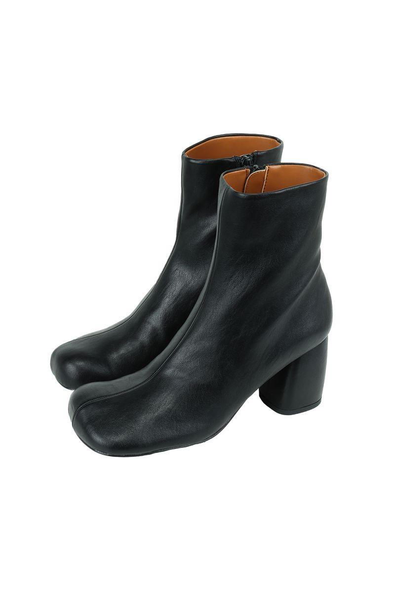 正規取扱店 1万円以上は送料無料 《週末限定タイムセール》 出群 Square Short Boots 12021027 Todayful -BLACK トゥデイフル