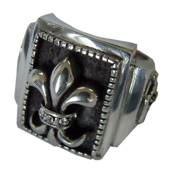大放出 75%オフで送料無料 シルバーミックスリング お気に入り 75%OFF メンズ 指輪 リング シルバーミックス 2020春夏新作 メンズリング リリィ ピューター
