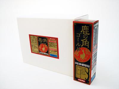 鹿の角ドリンク ゴールド10本セット 【送料無料】