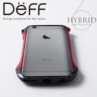 【Deff直営ストア】iPhone6,iPhone6s用アルミバンパー CLEAVE Hybrid Bumper for iPhone 6【送料無料】