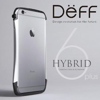 【Deff直営ストア】iPhone6 Plus,iPhone6s Plus用アルミバンパー「CLEAVE Hybrid Bumper for iPhone 6 Plus」