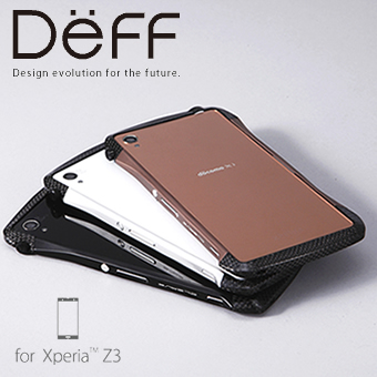 【Deff直営ストア】Xperia Z3用アルミバンパー「CLEAVE Hybrid Bumper for Xperia Z3」