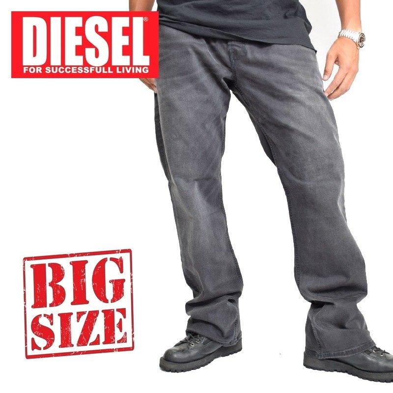 fda5c4f42c77 大きいサイズ メンズ ディーゼル Diesel デニムパンツ ジーンズ レギュラー ブーツカット ZATHAN WASH RA468_STRETCH  38 40
