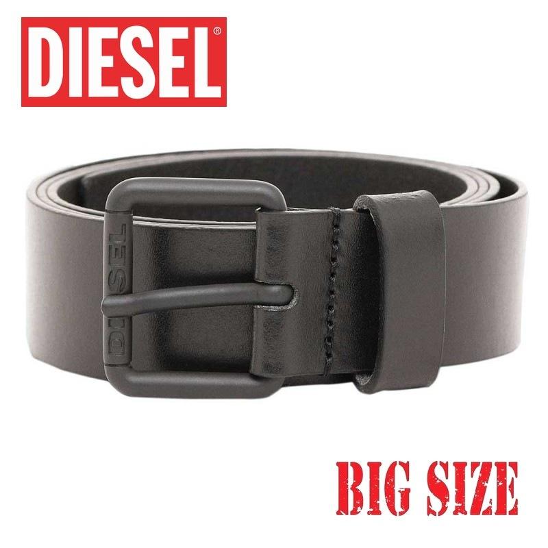送料無料 DIESEL ディーゼル レザーベルト 18%OFF B-TRED 黒 105 ブラック 100 あす楽 新入荷 流行 メンズ 大きいサイズ