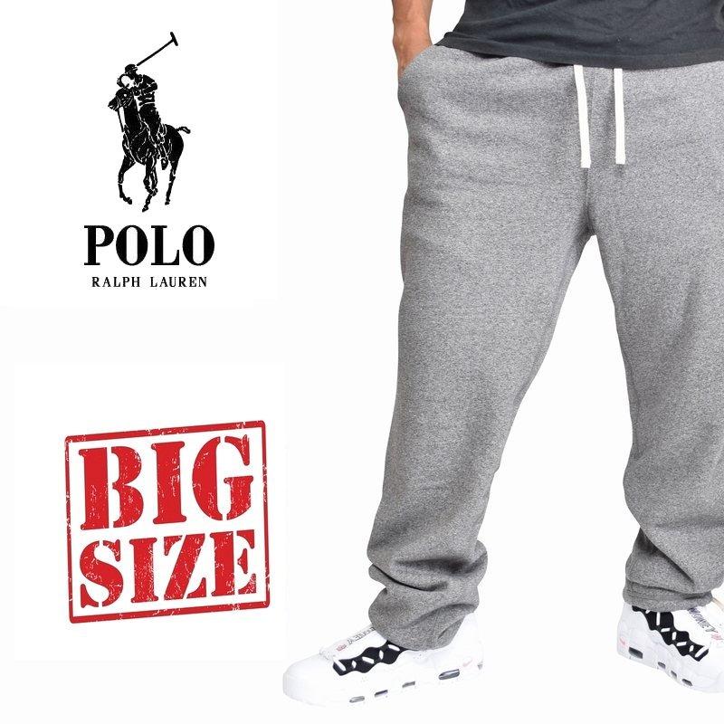 大きいサイズ メンズ ポロラルフローレン POLO RALPH LAUREN ワンポイント スウェットパンツ 裏起毛 XL XXL
