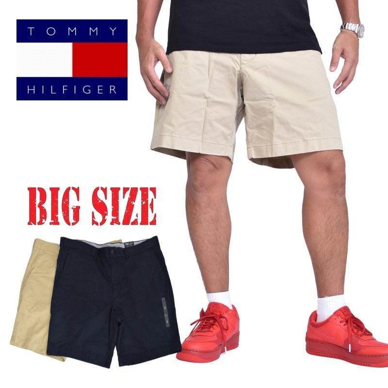 送料無料 トミーヒルフィガー TOMMY HILFIGER チノショーツ ハーフパンツ メンズ 46インチ 大きいサイズ 激安通販ショッピング 44 Seasonal Wrap入荷 42