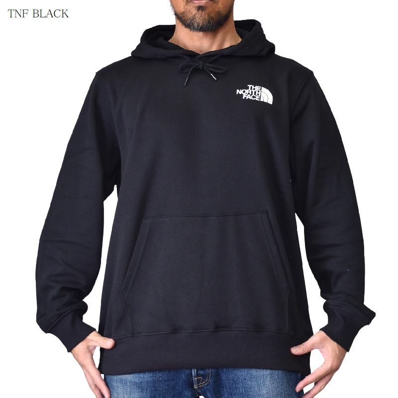 ノースフェイス パーカー USAモデル 裏起毛 スウェット THE NORTH FACE プルオーバー 黒 グレー L XL XXL 大きいサイズ メンズ  あす楽