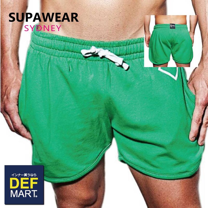 スーパーウェア SUPAWEAR メンズ ハーフパンツ S23 DIAMOND GREEN