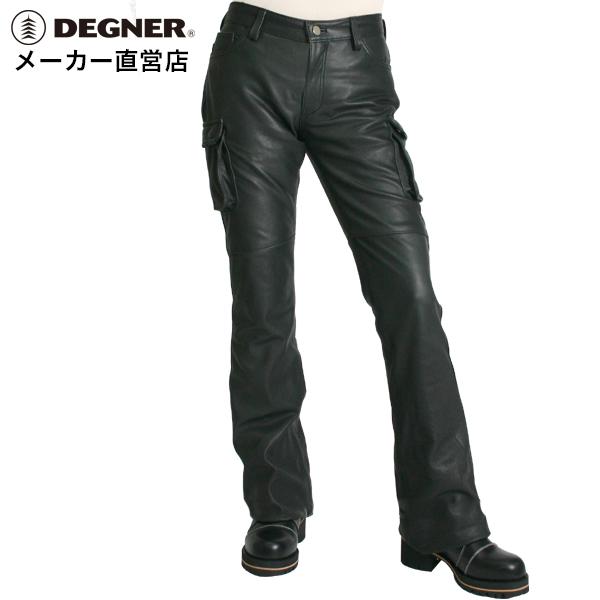デグナー DEGNER レザーカーゴパンツ FRP-19Aレディース 本革 脚長 美脚効果