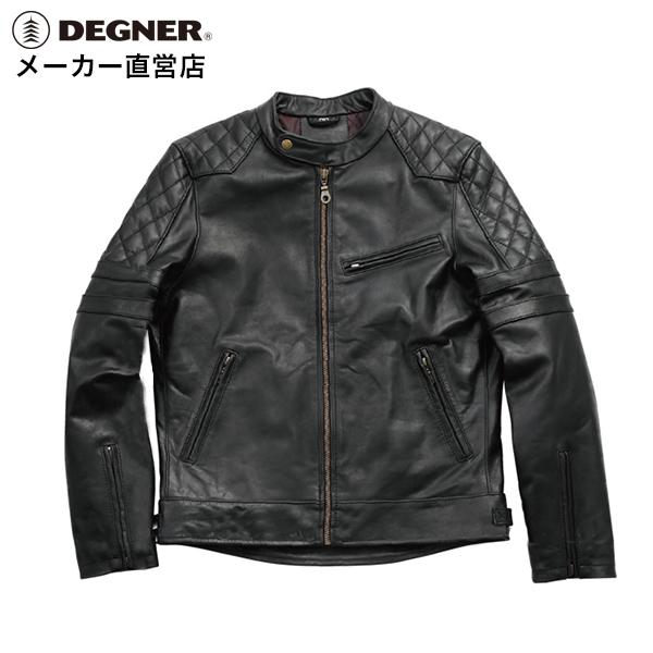デグナー DEGNER レザージャケット 16WJ-16 メンズ 冬 本革 防風 防寒