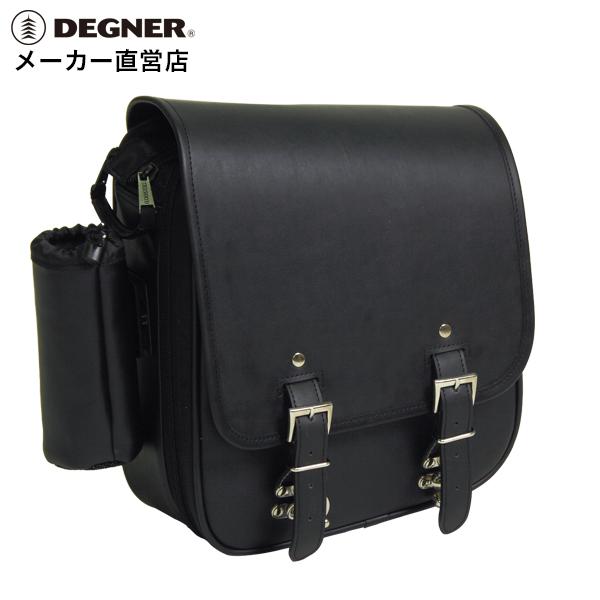 バイク リジットバッグ テキスタイル 合皮 リジットバッグ バイク リジットバッグ ソフテイル バッグ デグナー ハーレー サドルバッグ DEGNER NB-73 リジットバッグ