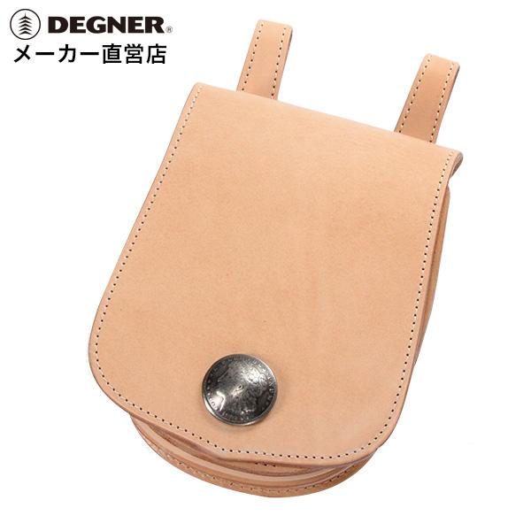 デグナー DEGNER レザー メディスンバッグ W-22A タン 本革 小物入れ