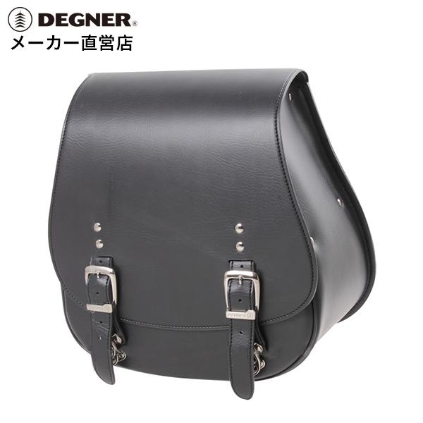 デグナー DEGNER サドルバッグ DSB-5 ブラック シンセティックレザー 合皮