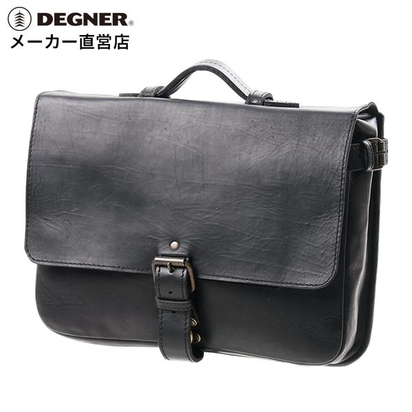 バイク サドルバッグ 本革 ハーレー ツーリング シープ 羊革 サイドバッグ ブラック 黒 SB-58-DB DEGNER デグナー