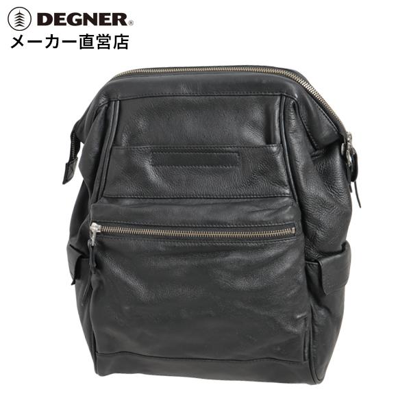デグナー DEGNER バイク レザー サドル バッグ SB-79 BK ブラック ショルダーバッグ 本革