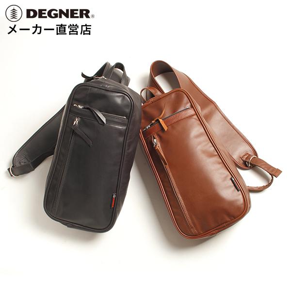 デグナー DEGNE レザーショルダー バッグ 5S-W4T 本革 オイルド