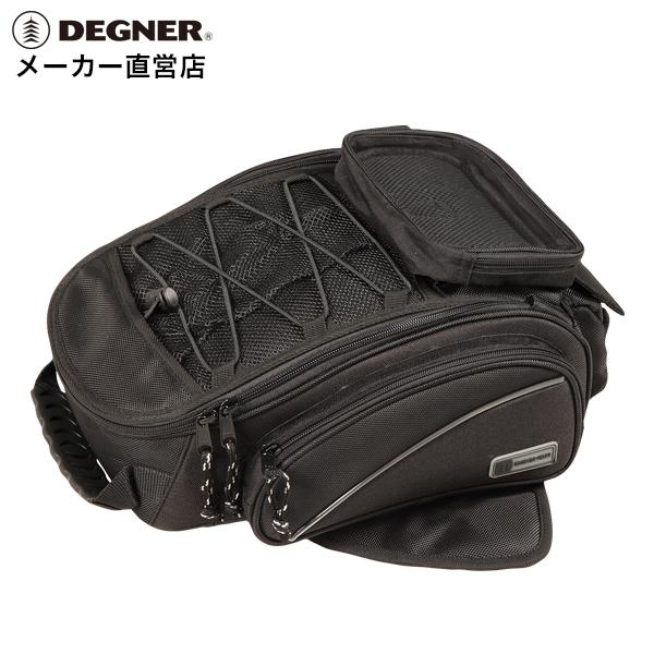 デグナー DEGNER タンクバッグ NB-118 ブラック マグネット スマホ ホルダー