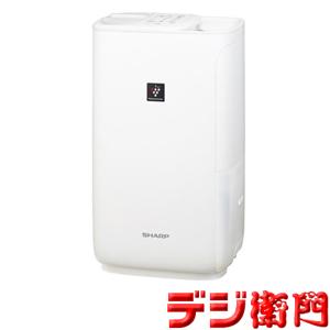 シャープ 加湿器 HV-H55-W プレミアムホワイト ハイブリッド式 /【Mサイズ】
