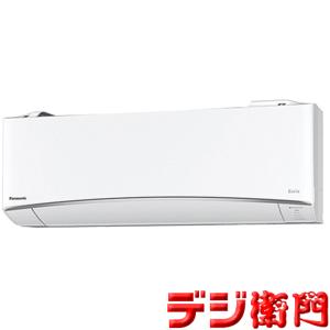 パナソニック 冷暖房エアコン CS-EX228C-W エオリア クリスタルホワイト 冷房能力2.2kW 自動おそうじ機能付 /【ACサイズ】