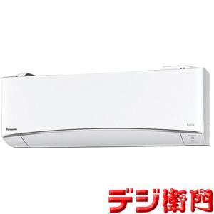 パナソニック 冷暖房エアコン CS-EX288C-W クリスタルホワイト エオリア 冷房能力2.8kW /【ACサイズ】
