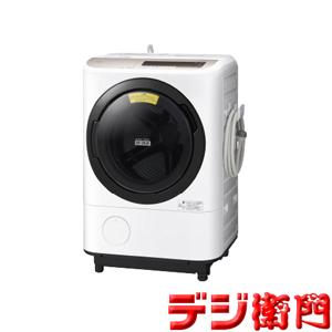 【右開き】日立 洗濯容量12kg・右開きタイプ ドラム式 洗濯機 ヒートリサイクル 風アイロン ビッグドラム BD-NV120CR [シャンパン]/【ヤマト家財宅急便で発送】