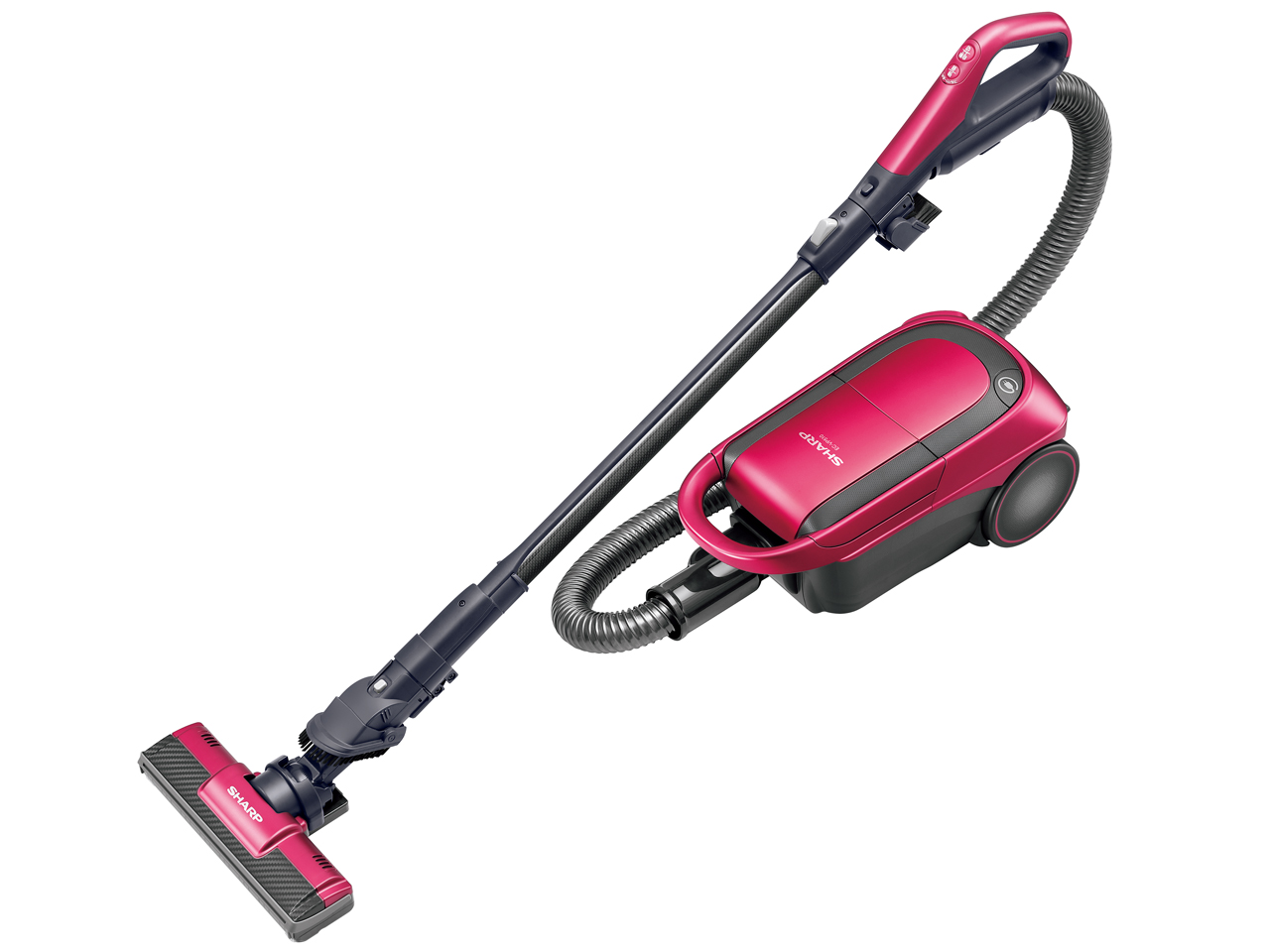 シャープ 紙パック式キャニスター掃除機 EC-VP510-P(ピンク系)