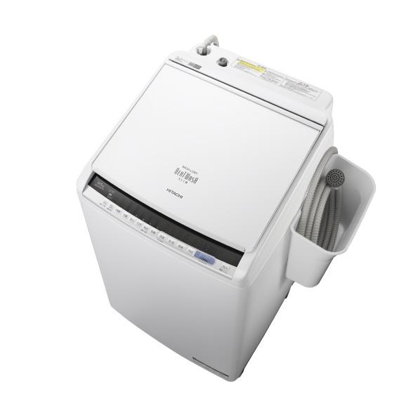 日立 9.0kg洗濯乾燥機 オリジナル ビートウォッシュ ホワイト BWDV90CE6W ※配送・設置は、最寄のエディオン配送センターよりお伺いいたします。[全国送料無料 ※一部地域を除く]