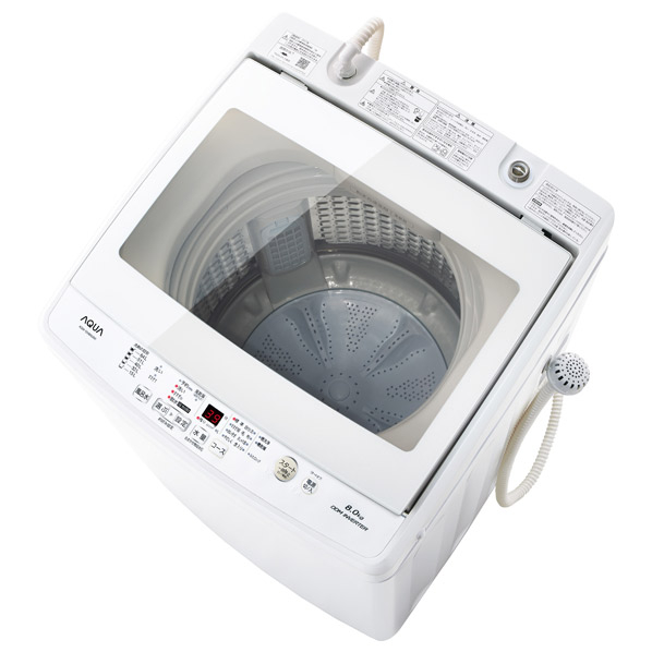 AQUA AQW-GV80G(W) 8.0kg全自動洗濯機 ホワイト [AQWGV80GW] AQUA ※配送・設置は、最寄のエディオン配送センターよりお伺いいたします [AQWGV80GW]。[全国送料無料 ※一部地域を除く], スピードコンタクト:c6ba75db --- gallery-rugdoll.com