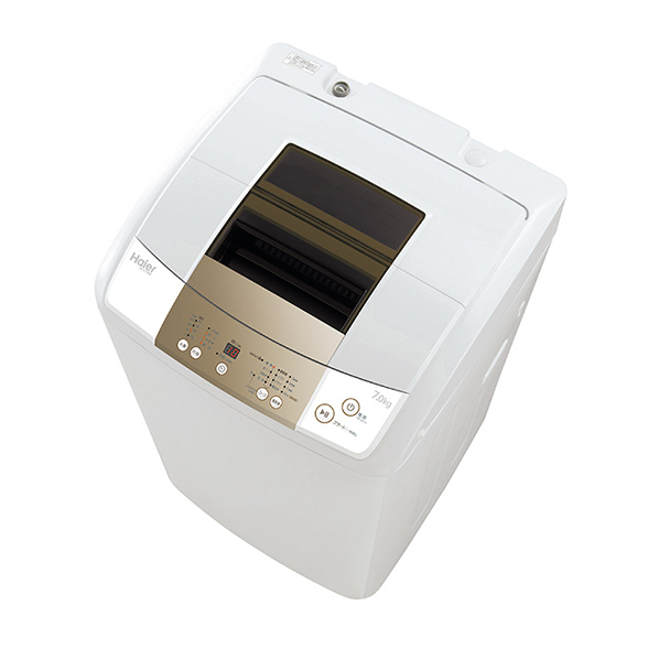 ハイアール JW-K70NE-W 7.0kg全自動洗濯機 オリジナル ホワイト [JWK70NEW] ※配送設置:最寄のエディオン商品センターよりお伺い致します。[※サービスエリア外は別途配送手数料が掛かります]