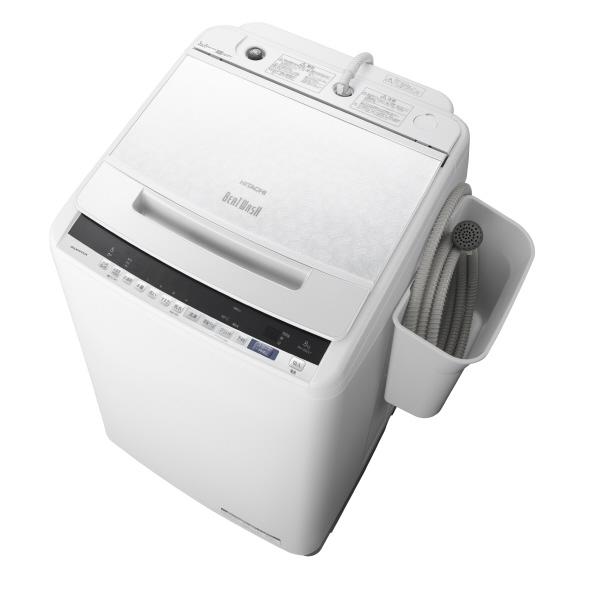 (納期目安:1ヶ月~)日立 BW-V80EE7 W 8.0kg全自動洗濯機 オリジナル ビートウォッシュ ホワイト BWV80EE7W ※配送設置:最寄のエディオン商品センターよりお伺い致します。[※サービスエリア外は別途配送手数料が掛かります]