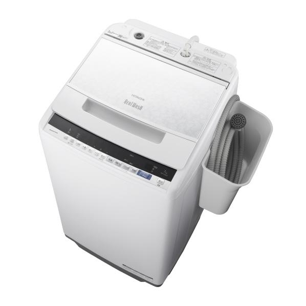 日立 BW-V70EE7 W 7.0kg全自動洗濯機 オリジナル ビートウォッシュ ホワイト [BWV70EE7W] ※配送設置:最寄のエディオン商品センターよりお伺い致します。[※サービスエリア外は別途配送手数料が掛かります]