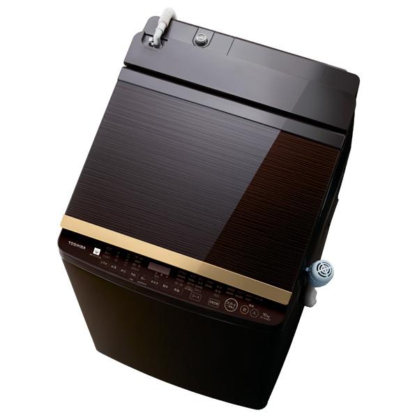 東芝 AW-10SV8(T) 10.0kg洗濯乾燥機 ZABOON グレインブラウン [AW10SV8T] ※配送設置:最寄のエディオン商品センターよりお伺い致します。[※サービスエリア外は別途配送手数料が掛かります]
