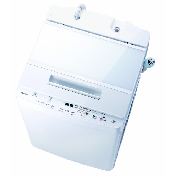 東芝 AW-10SDE7(W) 10.0kg全自動洗濯機 オリジナル ZABOON グランホワイト [AW10SDE7W] ※配送設置:最寄のエディオン商品センターよりお伺い致します。[※サービスエリア外は別途配送手数料が掛かります](搬入不可等によるキャンセルは出来ません)