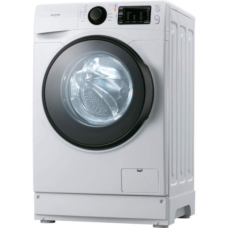 アイリスオーヤマ ドラム式洗濯機 8.0kg ホワイト HD81AR-W ※配送設置:最寄のエディオン商品センターよりお伺い致します。[※サービスエリア外は別途配送手数料が掛かります]