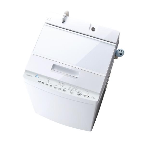 (5/27発売予定)東芝 AW-8D9(W) 8.0kg全自動洗濯機 ZABOON グランホワイト [AW8D9W] ※配送設置:最寄のエディオン商品センターよりお伺い致します。[※サービスエリア外は別途配送手数料が掛かります](搬入不可等によるキャンセルは出来ません)