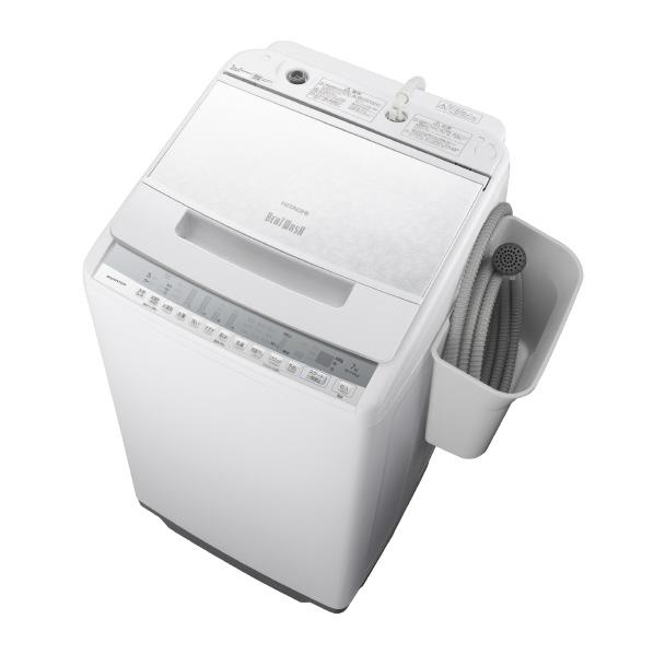 (物流在庫あり)日立 BW-V70FE8 W 7.0kg全自動洗濯機 オリジナル ビートウォッシュ ホワイト BWV70FE8W ※配送設置:最寄のエディオン商品センターよりお伺い致します。[※サービスエリア外は別途配送手数料が掛かります]