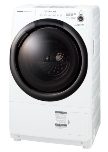 右開き セール特価 真下排水にも対応 NEW ARRIVAL マンションにもすっきり置けるコンパクトドラム 納期目安:1ヶ月~ シャープ ES-S7F-WR ホワイト ※配送設置:最寄の商品センターよりお伺い致します 7.0kgドラム式洗濯乾燥機 ※サービスエリア外は佐川急便の大型家電輸送にて手配 ESS7FWR