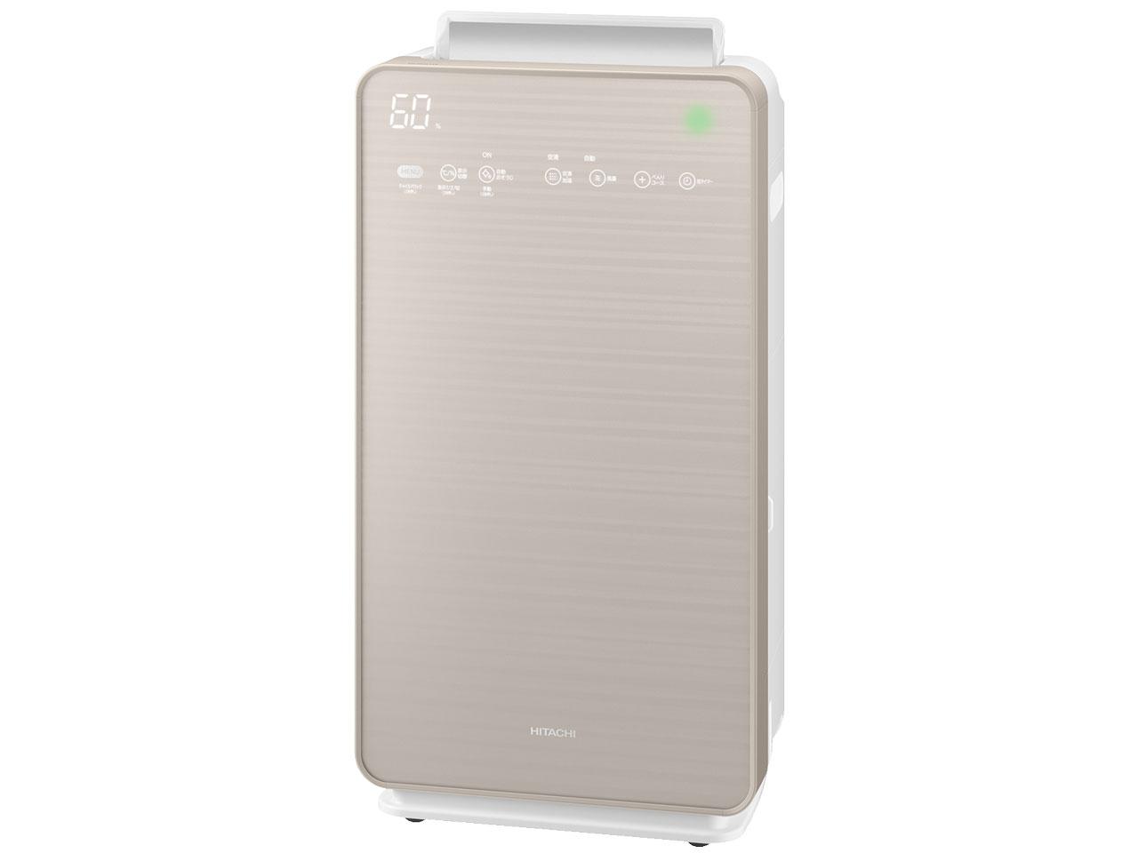 (お取り寄せ)日立 加湿空気清浄機 クリエア EP-NVG110-N [シャンパンゴールド][EP-NVG110N]