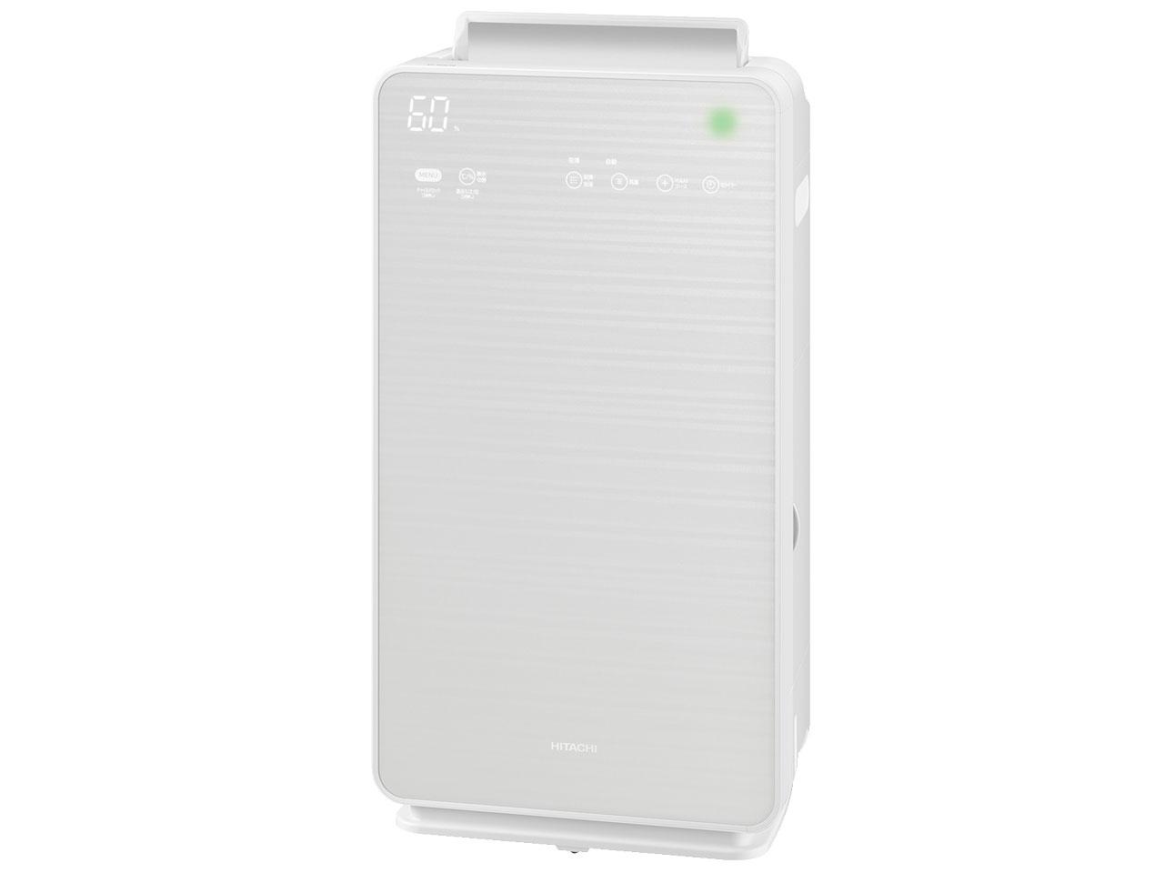 (お取り寄せ)日立 加湿空気清浄機 クリエア EP-NVG70-W [パールホワイト][EP-NVG70W]