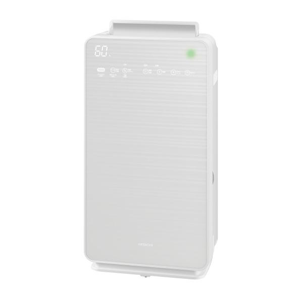 日立 EP-NVG50E5W 加湿空気清浄機 KuaL クリエア パールホワイト [EPNVG50E5W]