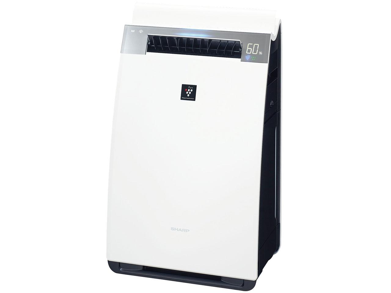 シャープ プラズマクラスター加湿空気清浄機 「プラズマクラスター25000」搭載 KI-JX75-W(ホワイト系)[KIJX75W]