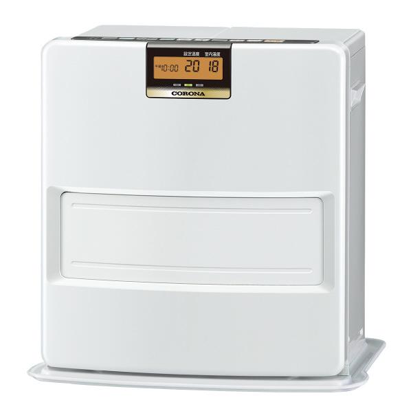 (在庫あり:台数限定)コロナ FH-VX3618BY(W) 木造10畳 コンクリート13畳まで 石油ファンヒーター VXシリーズ パールホワイト [FHVX3618BYW] ※延長保証加入対象外です。